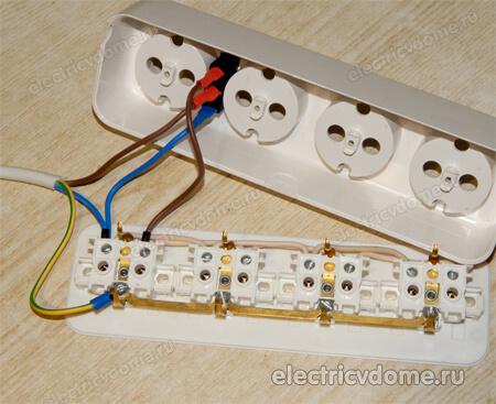 подключение кнопки с подсветкой 220В