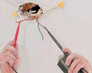 замена электропроводки - проверка выполненных работ