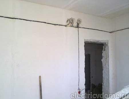как сделать штробу в стене