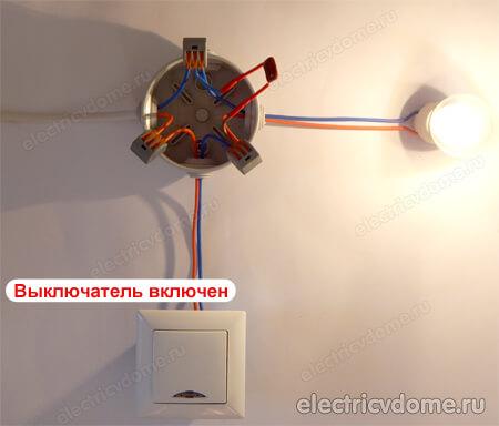 подключение конденсатора в распредкоробке