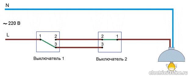 Схема управления источником