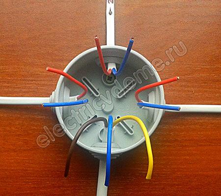 Схема подключения три выключателя фото 581