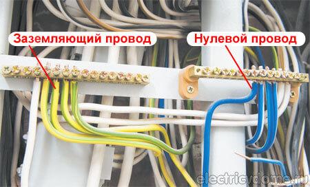 Цвет фазного провода